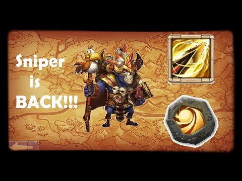 WallaWalla ZEALOUS DRIVE + SACRED LIGHT | THE SNIPER IS BACK!!! | Castle Clash Gameplay