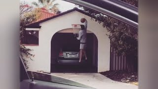 Dunking Teens Coming To A Driveway Near You with #DriveByDunkChallenge