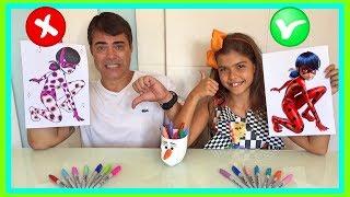 DESAFIO COLORINDO COM 3 CORES (3 MARKER CHALLENGE) | NICOLE DUMER