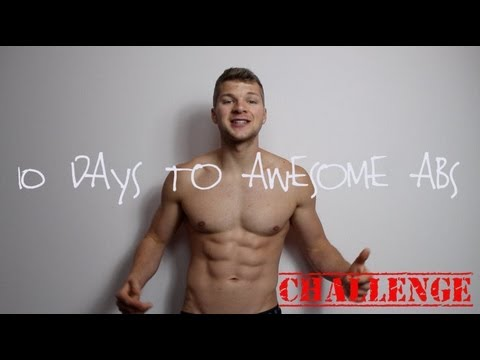10 DAYS TO AWESOME ABS!