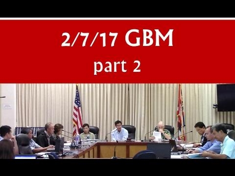 Feb 7, 2017 – Hawaiʻi BOE General Business meeting (GBM) [part 2 of 2]
