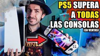 cómo PLAYSTATION 5 supera a Nintendo Switch y Xbox Series X - Ventas, Juegos, Gráficos, Potencia