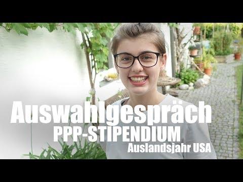 #5 PPP-STIPENDIUM | AUSWAHLGESPRÄCH | Auslandsjahr USA 2017/18