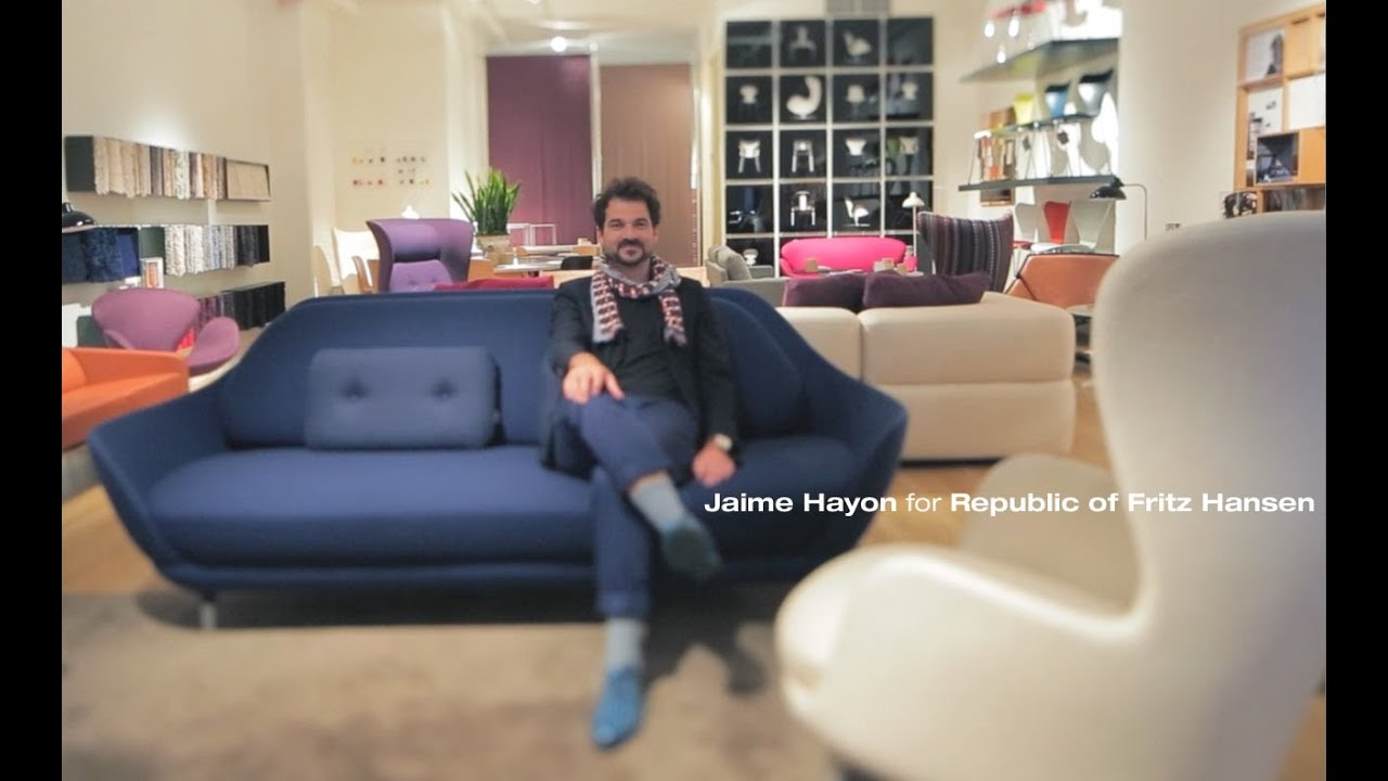 fritz hansen sessel ro 10, jaime hayon for republic of fritz hansen - youtube, Design ideen
