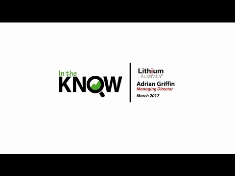 Lithium Australia (ASX:LIT) Interview with MD Adrian Griffin on Corporate Updates