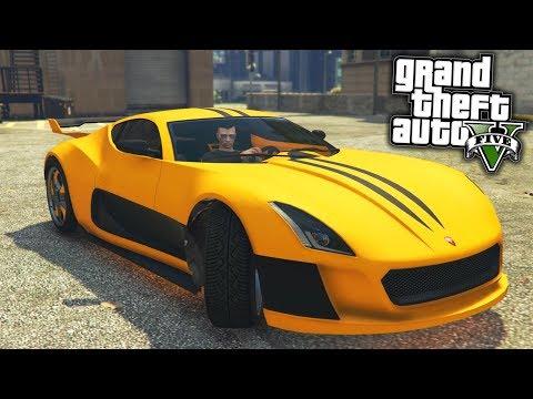 DE NIEUWE SNELSTE AUTO IN GTA 5 ONLINE!! - GTA V (Coil Cyclone Freeroam)