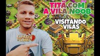 •AO VIVO COM A CV8 mas noob do clash chegando na tita rumo LENDÁRIA / visitando vilas 😄