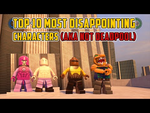 LEGO Marvel's Avengers - Top 10 Most Disappointing Characters (AKA Not Deadpool)