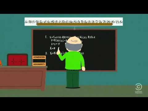 south park math class