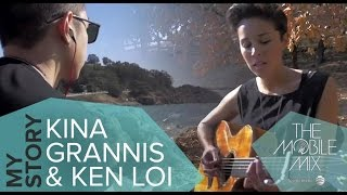 Kina Grannis - Write It In The Sky -- Ken Loi Remix (Official Music Video).