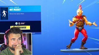 The New FREE Emote in Fortnite..