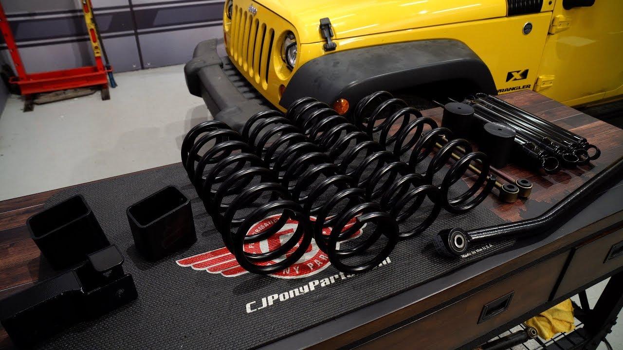 Jeep wrangler jk skyjacker suspension lift kit softride 3 1 2 with black max shocks 2d 2007 2018