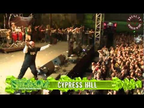 """BREAL.TV   Cypress Hill - """"Insane In The Brain"""" Live @ Smokeout 2012"""