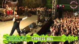 "BREAL.TV | Cypress Hill - ""Insane In The Brain"" Live @ Smokeout 2012"