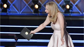 Elisabeth Moss Gets Bleeped During Emmys