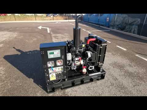 GROUPE ELECTROGENE ITC POWER DIESEL 14KVA 400V, 1500TR/MN OUVERT NON CAPOTE