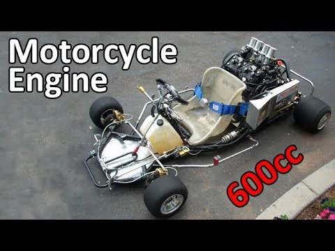 GoKarts with 600cc Motorcycle Engines
