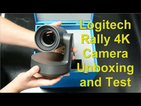 Logitech Rally 4K Camera Unboxing, Setup and Testing  - YouTube