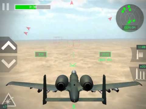 [Strike Fighters Attack] A-10A Thunderbolt II destroys 29 targets!