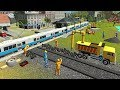 Indian Train City Drive Road Construction Sim - Railroad Builder Simulation - Android Gameplay FHD
