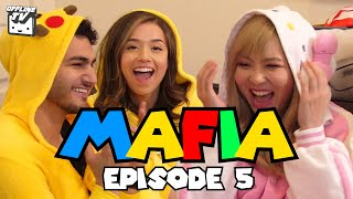 HE GOT CAUGHT LYING! MAFIA PART 5 Ft. DisguisedToast Scarra Pokimane LilyPichu Fedmyster