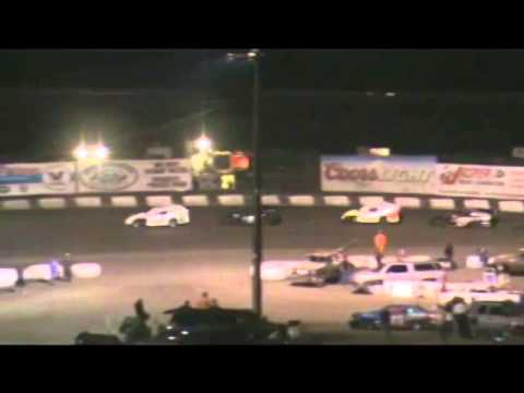 Santa Maria Speedway IMCA Modified #55 Heat Race and Main Event- 8/9/2014 - 1st Place