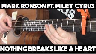 Kelly Valleau - Nothing Breaks Like A Heart (Mark Ronson ft. Miley Cyrus) - Fingerstyle Guitar Video