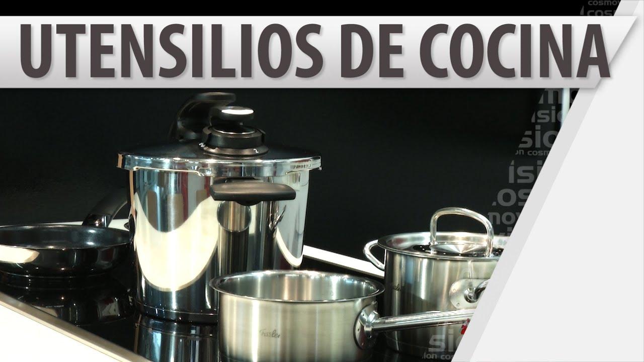 Funci n de los utensilios en la cocina youtube for Utensilios de chef