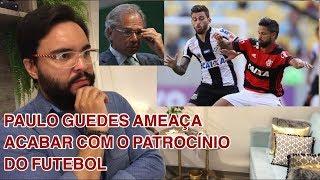 """Paulo Guedes, Caixa Econômica, Futebol e a """"Política do Pão e Circo""""!"""