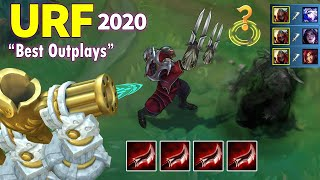 ARURF Best Outplays 2020 (URF Zed insane outplay, URF Lucian 1v5 Pentakill...)