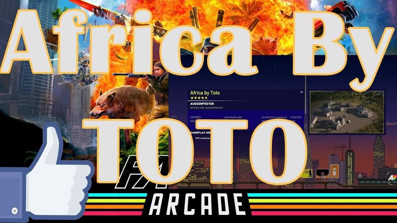 Far Cry® 5 | Online #ARCADE Coop | ARCADE Testing Maps | Africa by ...