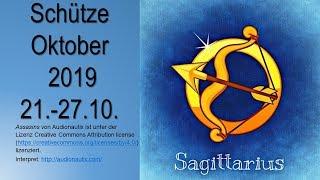 Taroskop Schütze 21. 27.10.2019