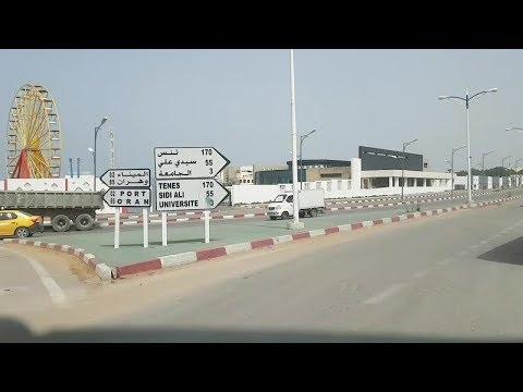 Driving in mostaganem Algérie 16 09 2018 مستغانم الجزائر