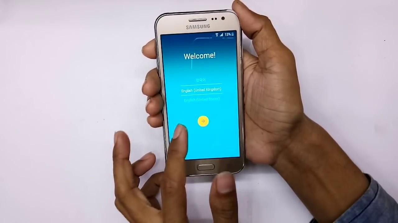 Samsung Galaxy J2 (J200G) Frp Bypass Google Account Removed