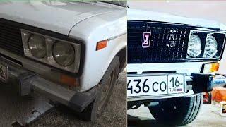 Привёл в порядок салон и кузов в идеал / ВАЗ 2106 Lada сделал сцепление: тазобудни