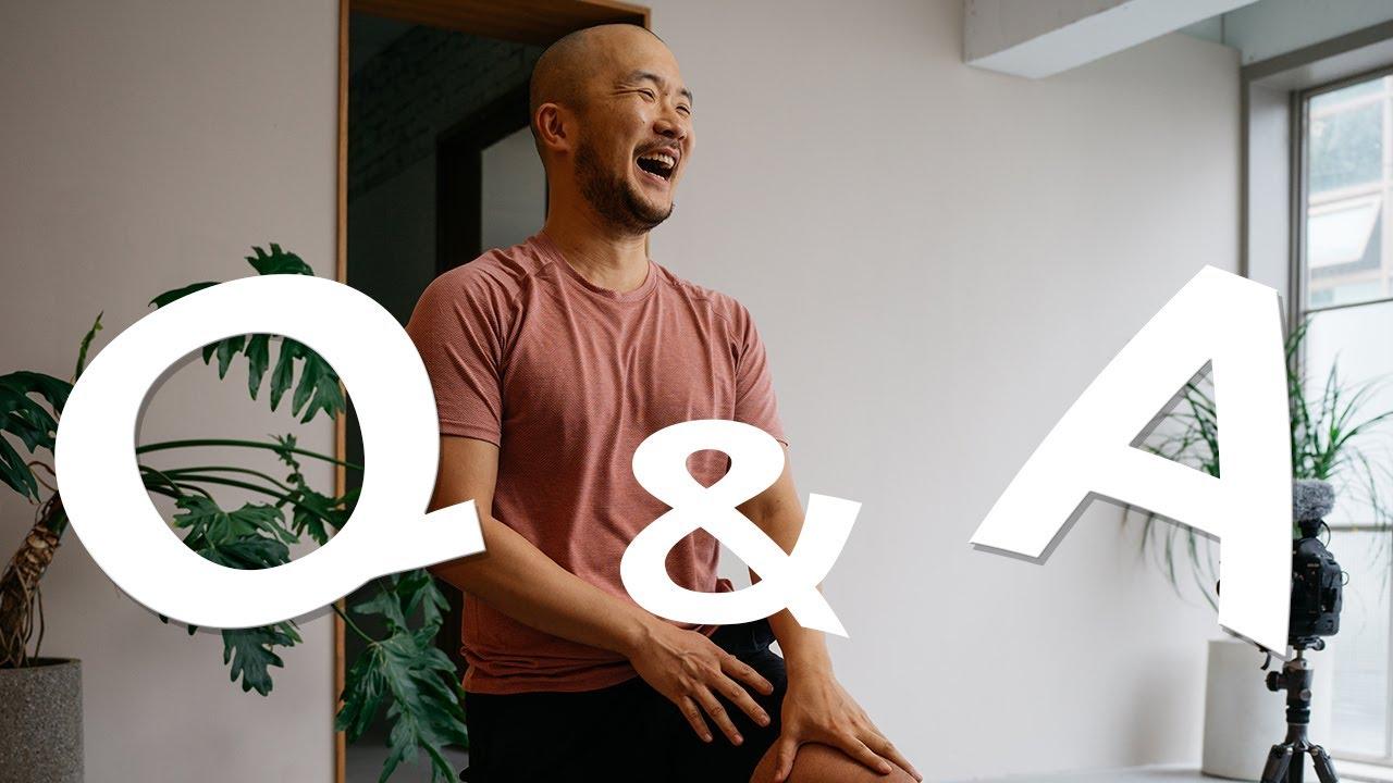 [Q&A] 40만 구독 기념   요가소년 답하다 1