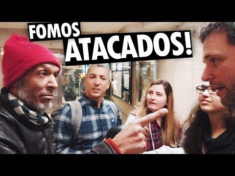 ATACADOS POR UM LOUCO EM TORONTO E FILMAMOS TUDO! - Vlog Ep.102