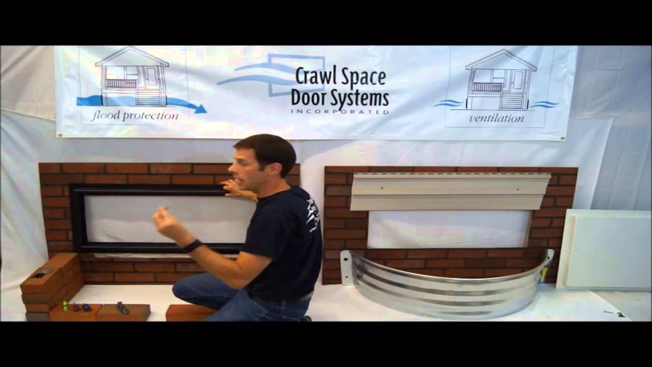Crawl Space Door Systems Inc Brick Well Install Youtube