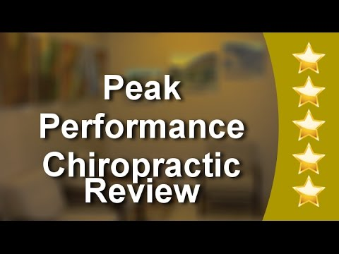 Peak Performance Chiropractic Menlo Park Great 5 Star Review by Crystal L.