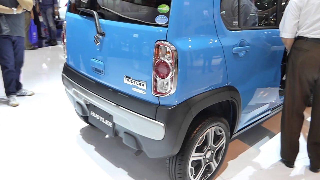 Iims 2014 suzuki hustler 600 cc exterior interior view