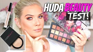 TESTER HUDA BEAUTY! OLD VS. NEW EYESHADOW PALETTE
