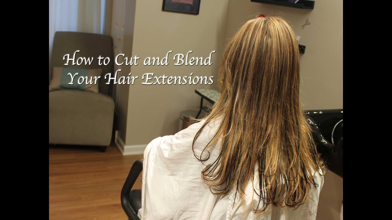 how to style hair cut how to cut and blend hair extensions razor and texture 3614