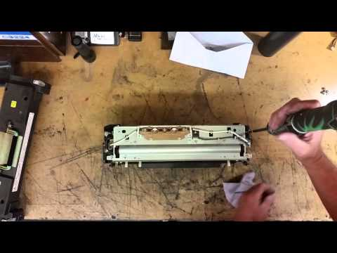 How To Replace Fuser Lamp Ricoh
