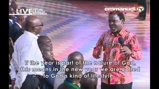 SCOAN 31/12/17: TB Joshua Message, Prophecy & Deliverance