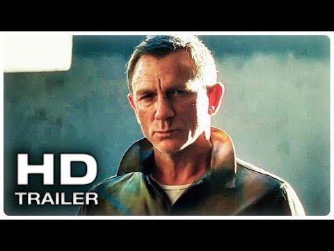 ДЖЕЙМС БОНД ׃25 НЕ ВРЕМЯ УМИРАТЬ Трейлер ТИЗЕР #2 (2020) Дэниэл Крэйг 007 Action Movie HD
