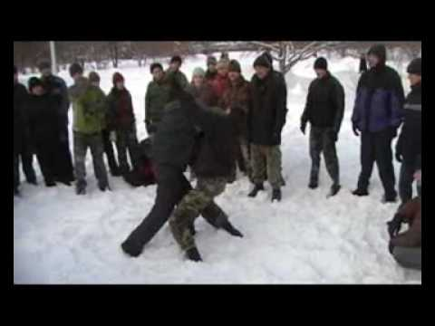 "RMA SYSTEMA ""SV""/ Winter _09. Hand-to-hand fight."
