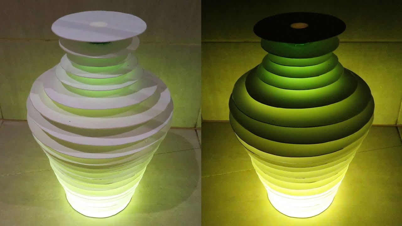 Bottle Vase Lamp How To Make Floor