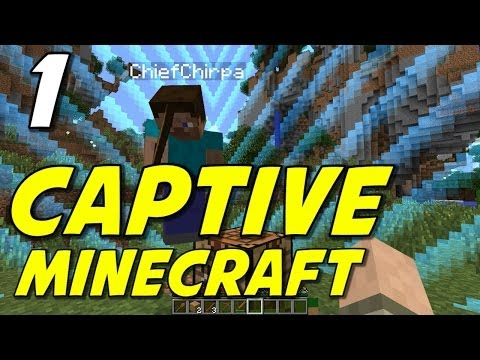 "Captive Minecraft | E01 | ""Turn Down The Chunks!"" (with ChiefChirpa!)"