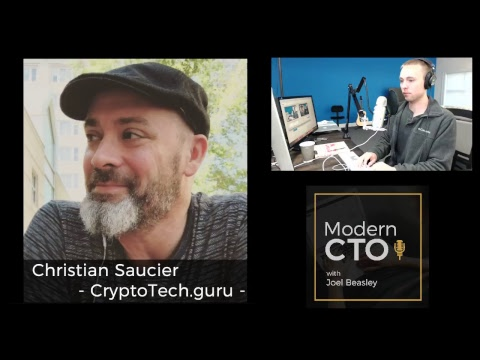 Live with Christian Saucier -  CryptoTech.guru