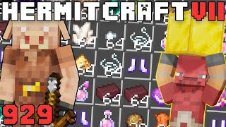 Hermitcraft VII 929 Piglin Bartering Is OVERPOWERED!